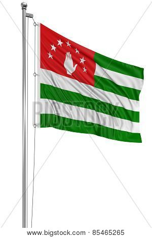 3D Abkhazia flag