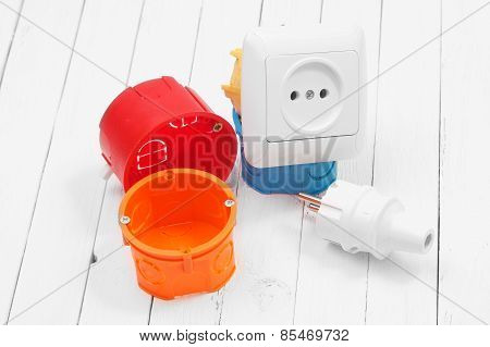 Electrical Socket And An Electrical Wire