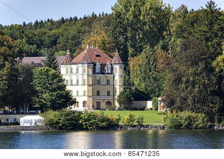 Castle On Lake Starnberg