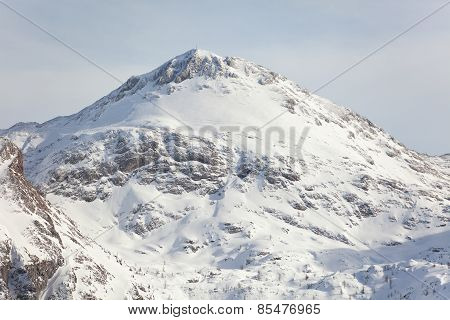 Mountain In The Bavarian Alps