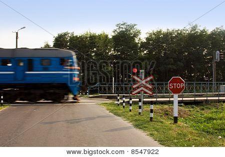 Cruce de ferrocarril