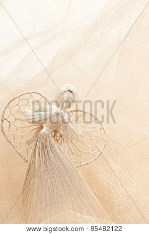 New Year 2015. Angel, Christmas Spirit. Christmas Decoration