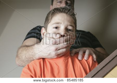 father abused his young boy at home