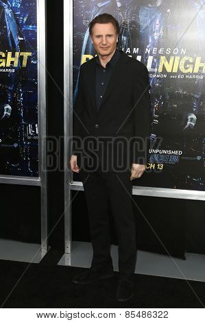 NEW YORK-MAR 9: Actor Liam Neeson attends the premiere of