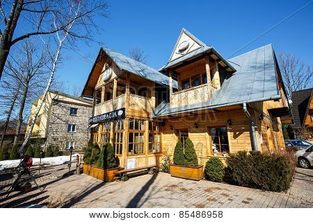 Restaurant Named Little Switzerland, Zakopane