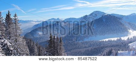 Alpine Winter Landscape Bavaria