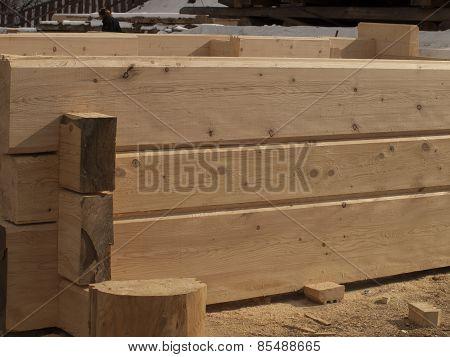 Building Log Houses Rectangular