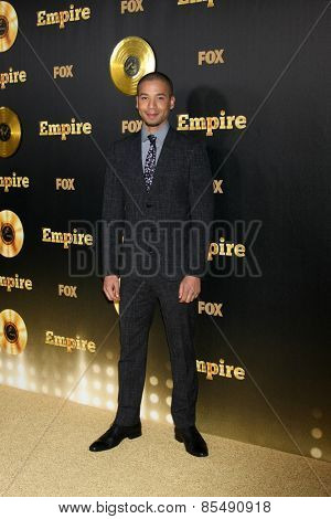 LOS ANGELES - JAN 6:  Jusse Smollett at the FOX TV