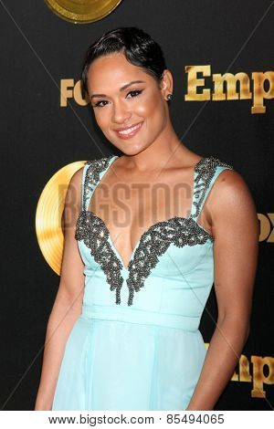 LOS ANGELES - JAN 6:  Grace Gealey at the FOX TV