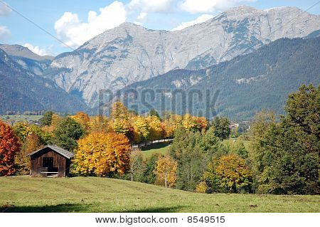 Fall In Austrian Alps