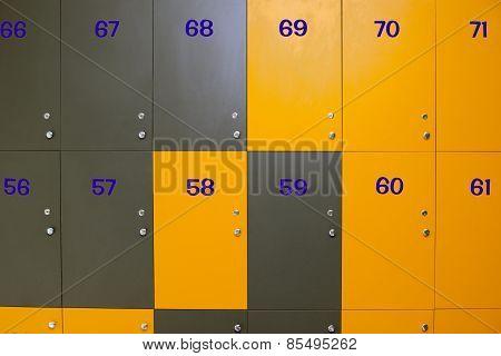 Modern Locker Room
