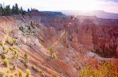 stock photo of breathtaking  - Breathtaking View of Bryce Canyon as Viewed From Sunrise Point at Bryce Canyon National Park in Utah United States of America - JPG