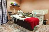 stock photo of beauty salon interior  - Beauty salon interior - JPG
