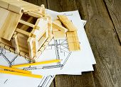 pic of engineering construction  - Building house - JPG