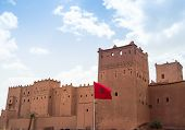 picture of pompous  - Kasbah von Taourirt 691 ourzazate in Morroco - JPG
