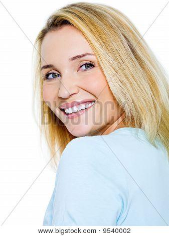 Beautiful Happy Smiling Woman