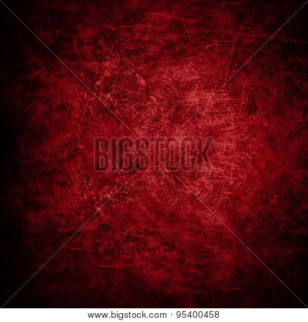 red concrete background texture.