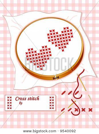 How To Cross Stitch Embroidery