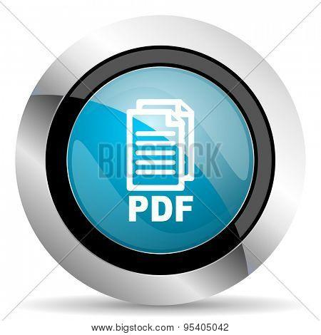 pdf icon pdf file sign