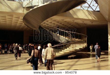 Musee Du Louvre In Paris