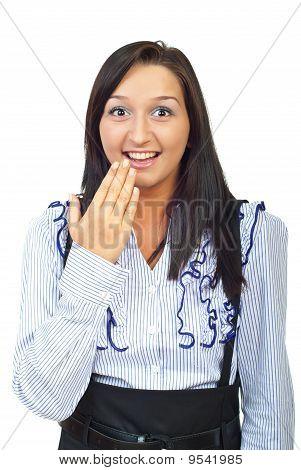 Surprised Happy Woman