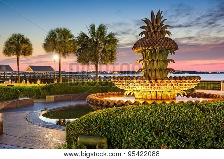 Charleston, South Carolina, USA at Waterfront Park.