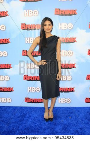 LOS ANGELES - JUN 8: Melanie Kannokada at the Premiere of HBO's 'The Brink' at the Paramount Theater at Paramount Studios on June 8, 2015 in Los Angeles, CA
