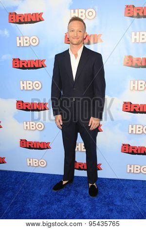 LOS ANGELES - JUN 8: Eric Ladin at the Premiere of HBO's 'The Brink' at the Paramount Theater at Paramount Studios on June 8, 2015 in Los Angeles, CA