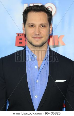 LOS ANGELES - JUN 8: Matt McGorry at the Premiere of HBO's 'The Brink' at the Paramount Theater at Paramount Studios on June 8, 2015 in Los Angeles, CA