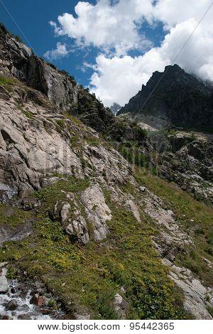 Hiking In Mountain
