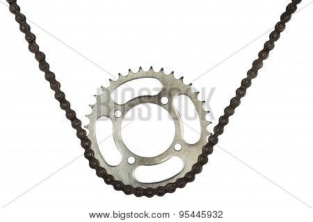 Roller Chains With Sprockets For Motorcycles