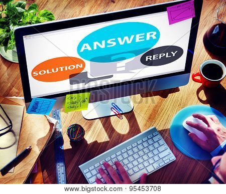 Answers Solution Reply Response Problems Concept