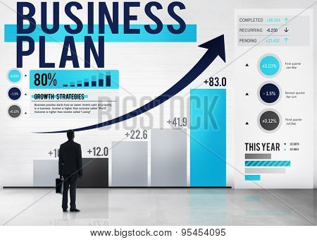 Business Plan Planning Growth Success Analysis Concept