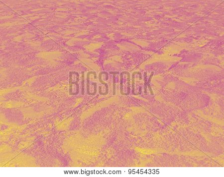 Yellow-magenta beach sand background