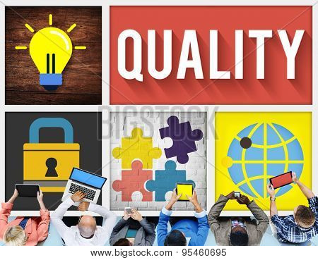Quality Guarantee Potential Ability Capability Concept