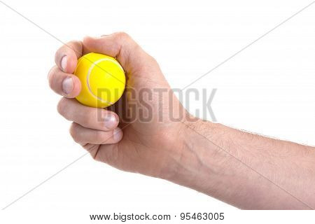Small Toy Tennisball
