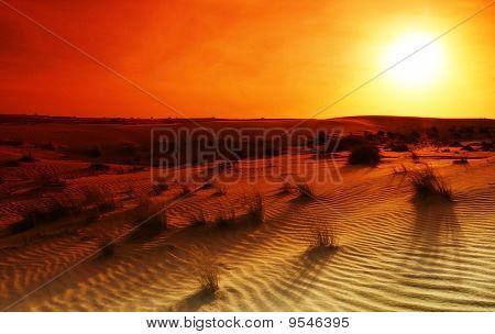 Desierto extremo