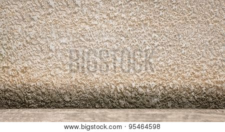 Concrete Wall And Floor Background