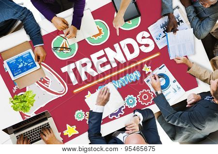 Trends Fashion Update Modern Contemporary Concept