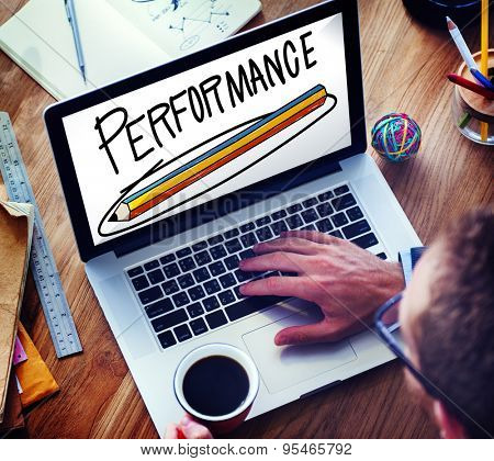 Performance Efficiency Improve Skill Strategy Concept