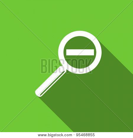 lens flat icon  original modern design flat icon for web and mobile app with long shadow