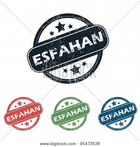 Round Esfahan city stamp set