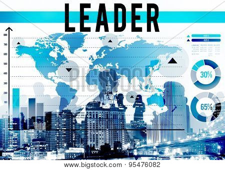 Leader Leadership Lead Management Authoritarian Director Concept