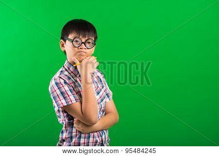 Pensive Schoolboy
