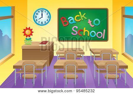 Classroom theme image 2 - eps10 vector illustration.