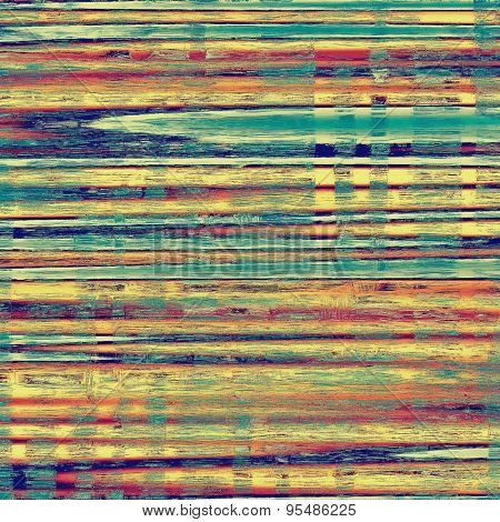 Vintage old texture for creative retro background. With different color patterns: yellow (beige); purple (violet); blue; red (orange)