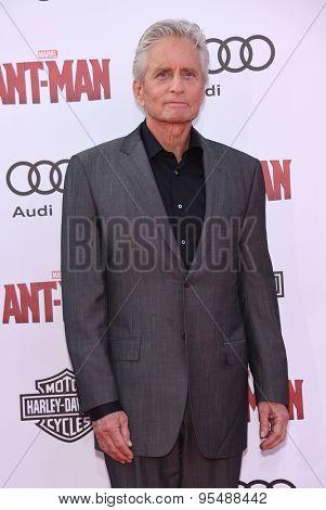LOS ANGELES - JUN 29:  Michael Douglas arrives to the