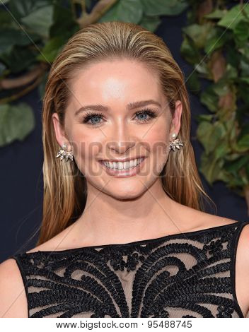 LOS ANGELES - JUN 09:  Greer Grammer arrives to the