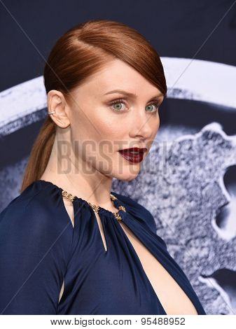 LOS ANGELES - JUN 09:  Bryce Dallas Howard arrives to the