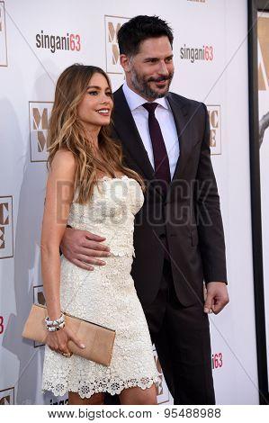 LOS ANGELES - JUN 25:  Sofia Vergara & Joe Manganiello arrives to the